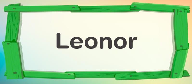 Cuál es el significado de Leonor