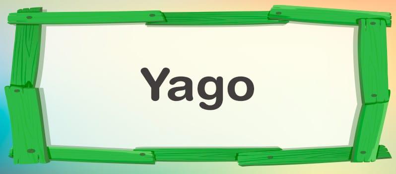 Cuál es el significado de Yago