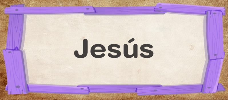Jesús significado