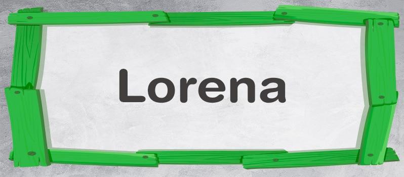 Lorena significado