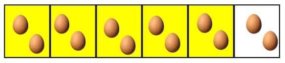 Multiplicación de fracciones para niños