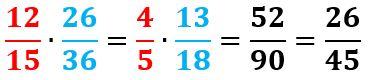 Multiplicar y dividir fracciones para niños
