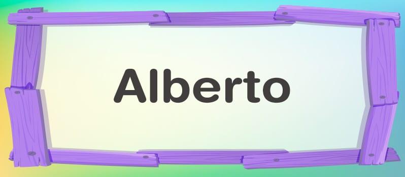 Nombre Alberto significado