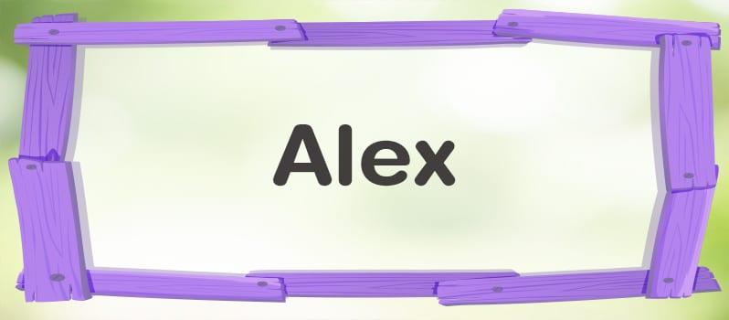 Nombre Alex significado