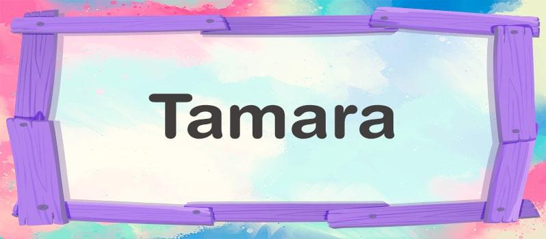 Nombre Tamara significado