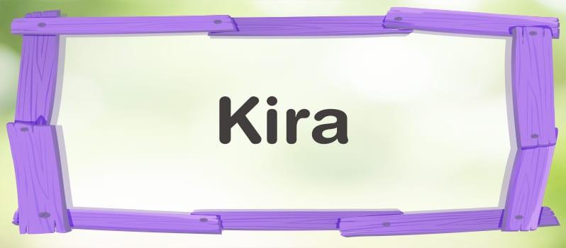 Qué significa Kira