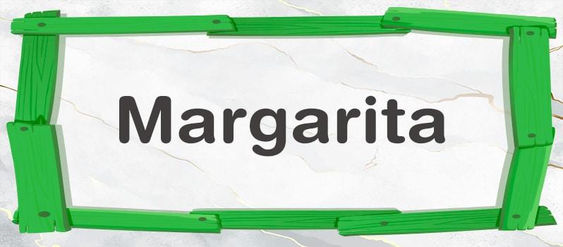 Qué significa Margarita