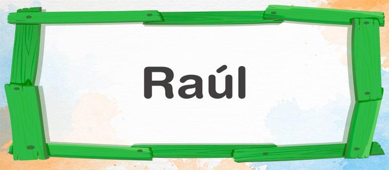 Qué significa Raúl