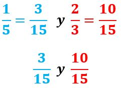 Reducción Fracciones