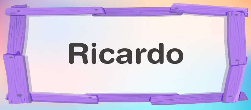 Ricardo significado