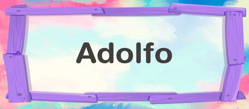 Significado de Adolfo