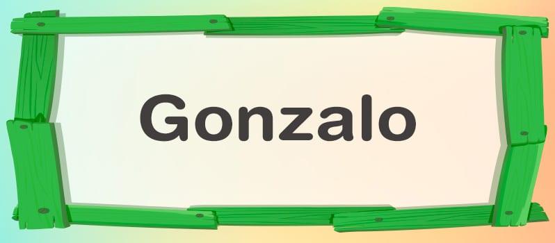 Significado de Gonzalo