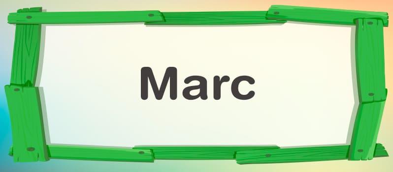 Significado de Marc