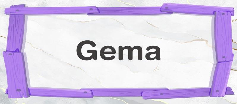 Significado del nombre Gema