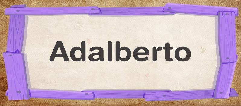 Adalberto significado