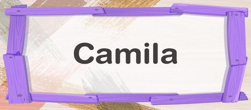 Camila significado