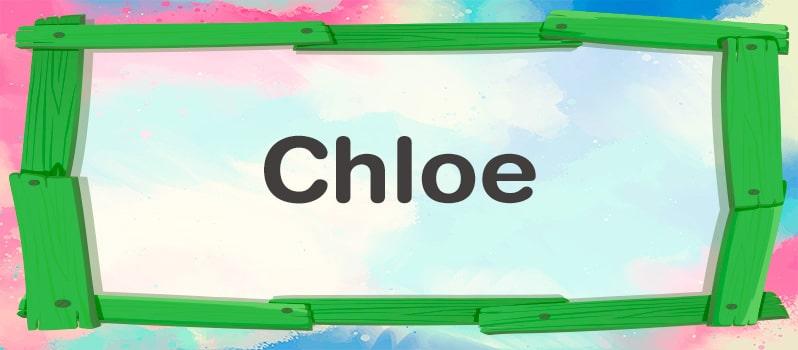Chloe significado
