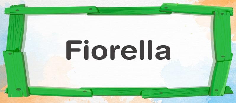 Cuál es el significado de Fiorella