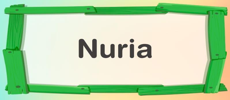 Cuál es el significado de Nuria