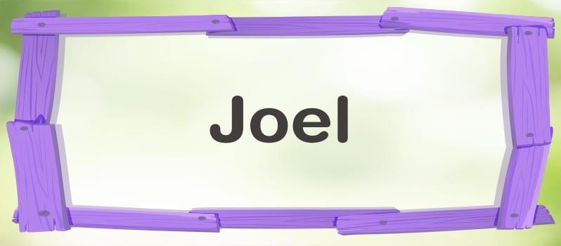 Joel significado