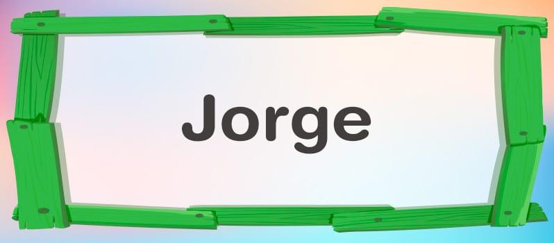 Nombre Jorge significado
