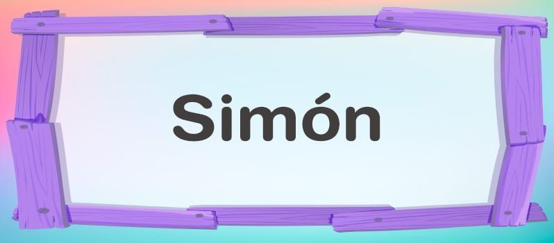 Nombre Simón significado