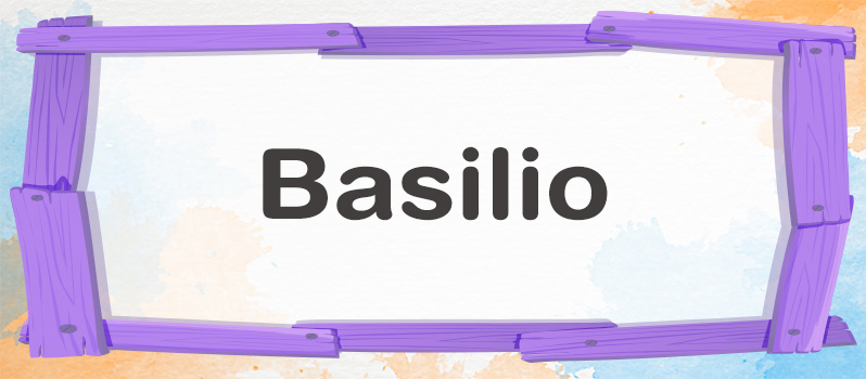 Qué significa Basilio