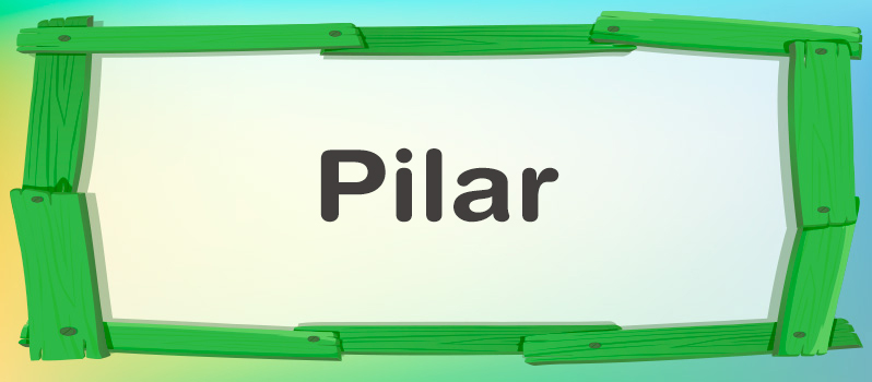 Qué significa Pilar