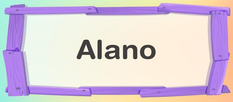 Significado de Alano