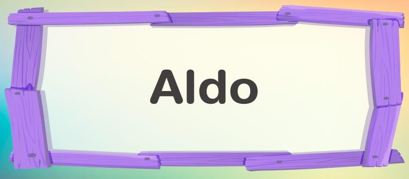 Significado de Aldo