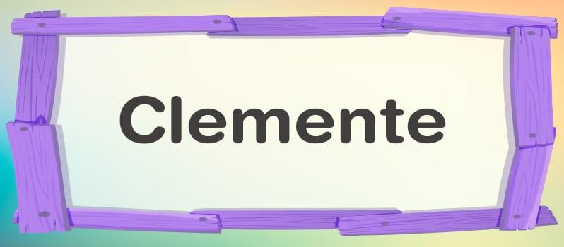 Significado de Clemente