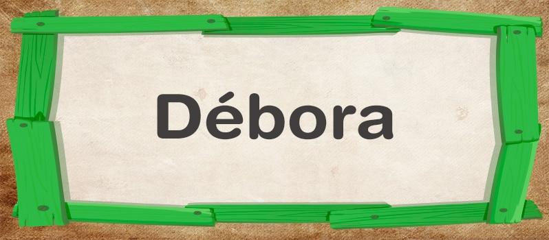 Significado de Débora