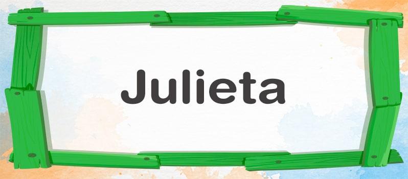 Significado de Julieta