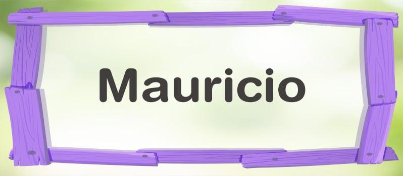 Significado de Mauricio