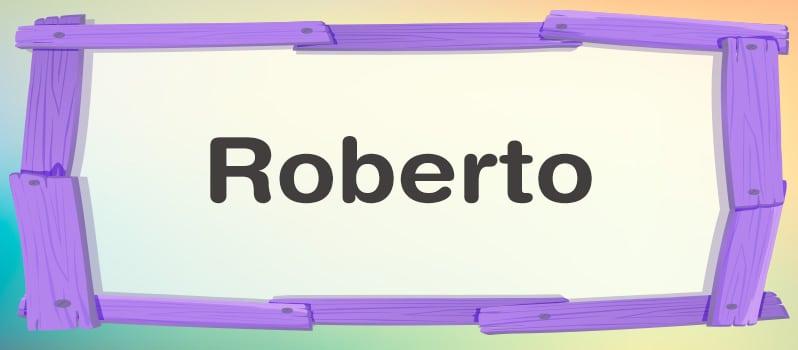 Significado de Roberto