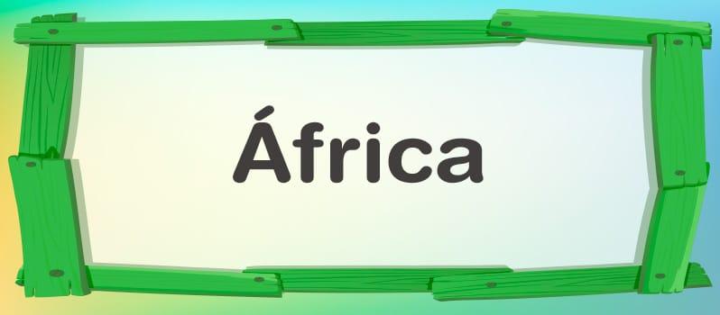 Significado del nombre África
