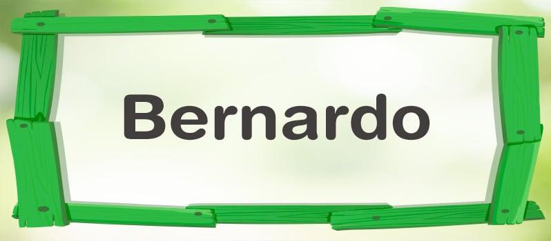 Significado del nombre Bernardo