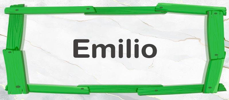 Significado del nombre Emilia