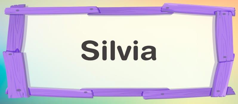 Silvia significado