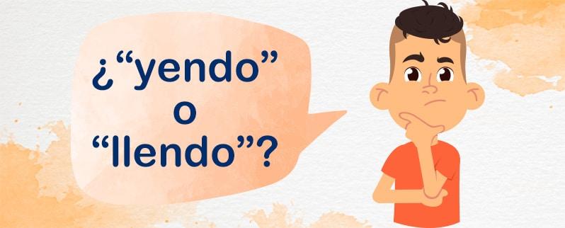 Yendo o Llendo para niños