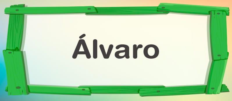 Álvaro significado