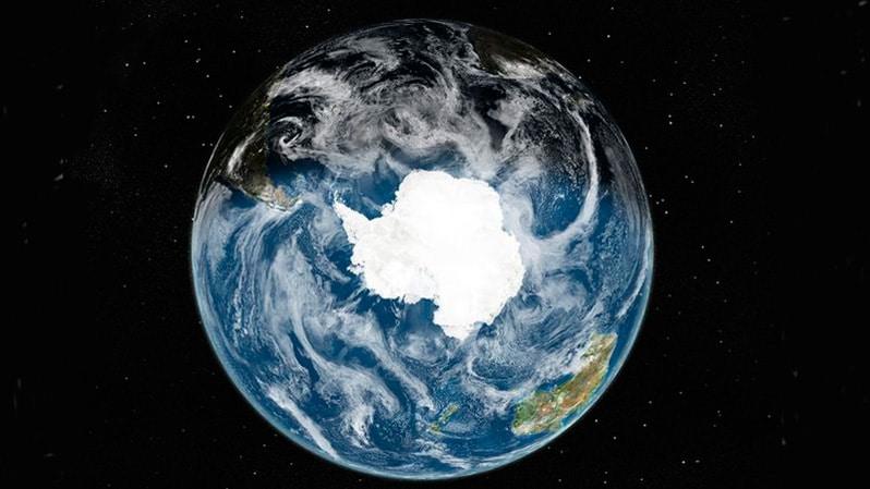 Antártida desde el espacio