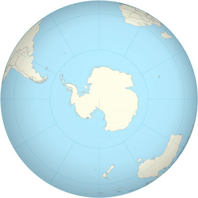 Continente Antártica