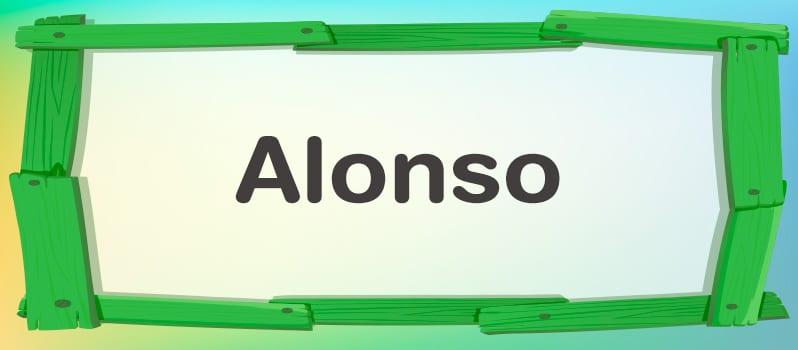 Cuál es el significado de Alonso