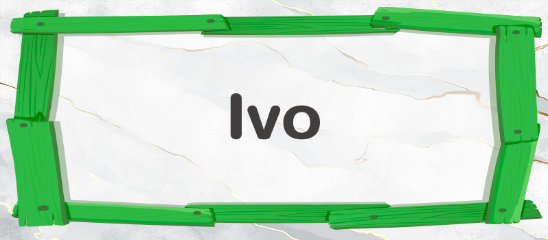 Ivo significado