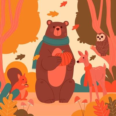 Las estaciones del año para niños de Primaria