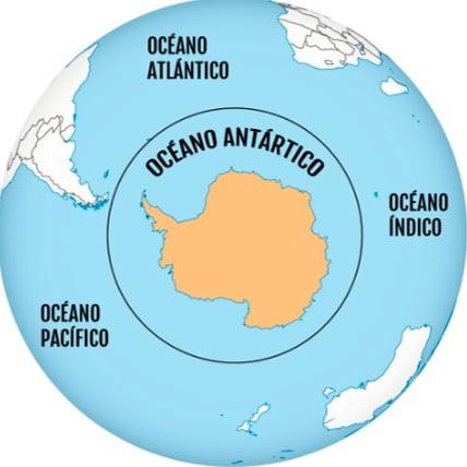 Océanos Antártica