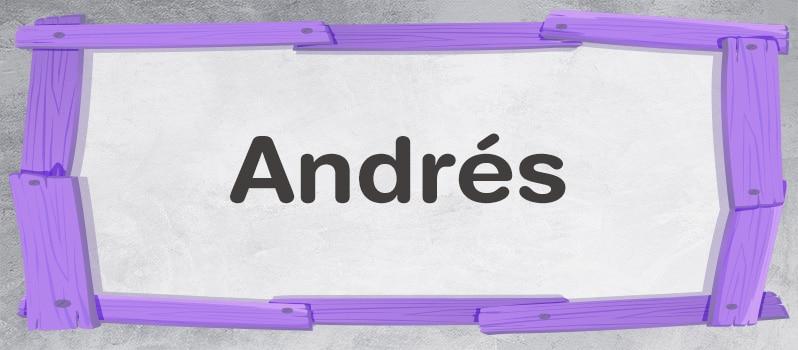 Qué significa Andrés