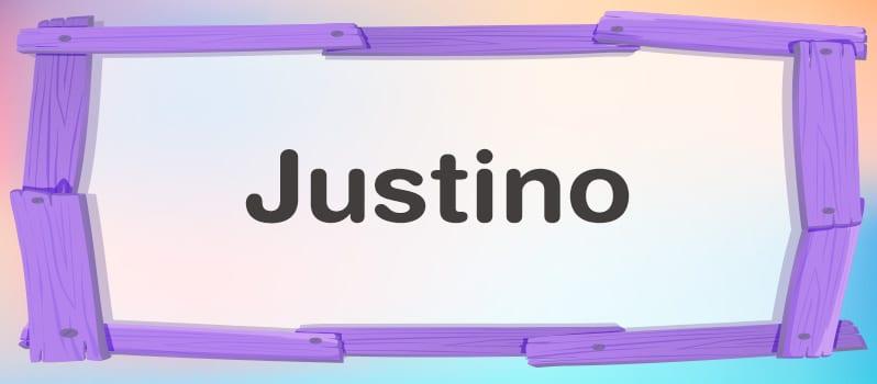 Qué significa Justino