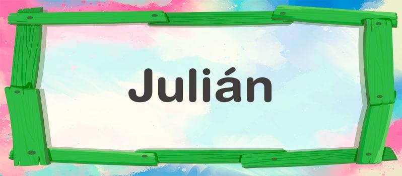Significado de Julián